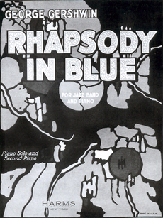 Rhapsody in Blue: 1924 Sheet Music